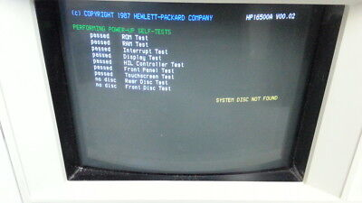 Agilent / HP 16500A Logic Analysis System Mainframe + 16510A Card