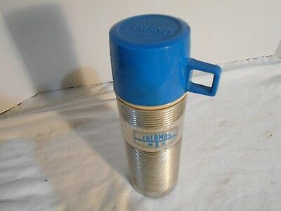 Vintage Collectible King-Seeley Thermos Metal Thermos and Plastic Cup