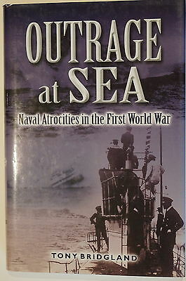WW1 British French German Outrage at Sea Naval Atrocities Reference Book