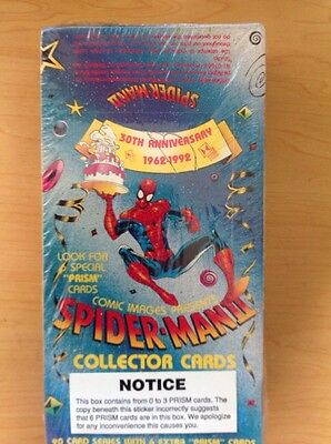 Spider Man II Collector Cards 30th Anniversary Factory Sealed Box