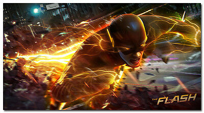 The Flash TV Series Art Silk Poster 24x32 inches Barry Allen 021