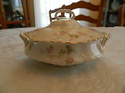 Pope Gosser China Covered Tureen Vegetable Dish