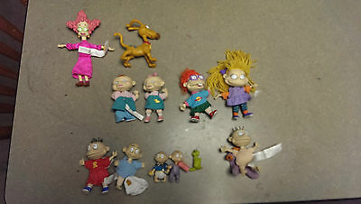 RARE Rugrats Toy Collection the Entire Crew, Long Out of Print!.