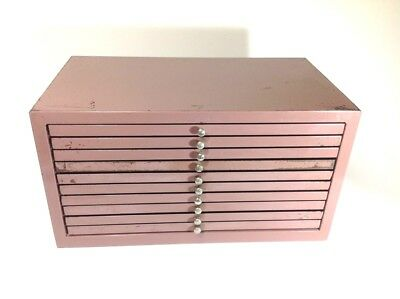Vintage Metal Specimen/Collectors Drawers