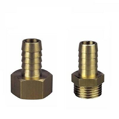 """Brass Hose Connector 1/2"""" BSP Various Sizes - High Quality"""