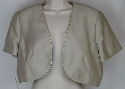 Jacques Vert Sandstone Bolero Jacket ** Free Shipping in the US Only**