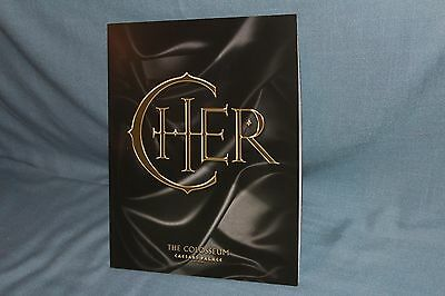 Cher The Colosseum Caesar's Palace Program Pictures Photos Mint Orig Owner
