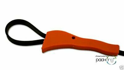 """5"""" Adjustable Strap Wrench From 1""""-5"""" Ribbed Easily Removes Lids, Filters, Pipe"""