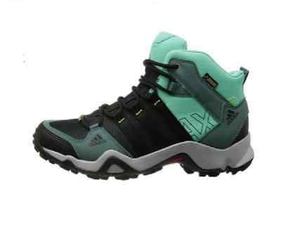 NEW Adidas AX2 Mid GTX Turquoise Hiking Walking Boots Q34285 Women Size12 Men11