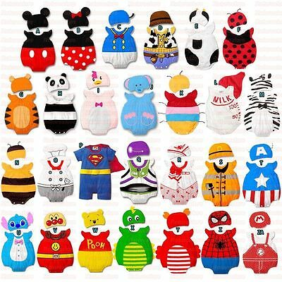 Cute Baby Fancy Dress Romper Costume - Boys Girls Kids Christmas Hat Set Outfit