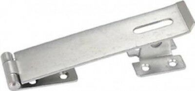 Basic Safety Hasp/Staple Bright Zinc Plated 150mm (Pack of 1)