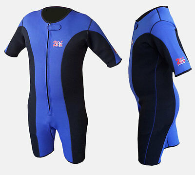 2Fit Sauna Sweat Suit Gym Boxing MMA Jogging Weight Loss Slimming Shorts UFC Blu