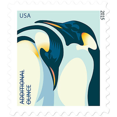 New USPS Penguins Pane of 20 Additional Ounce