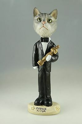 Actor Silver Taby Cat Interchangable Body See All Breeds  Bodies @ Ebay Store