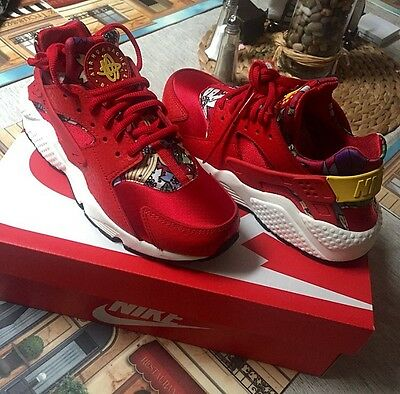 red new nike huaraches