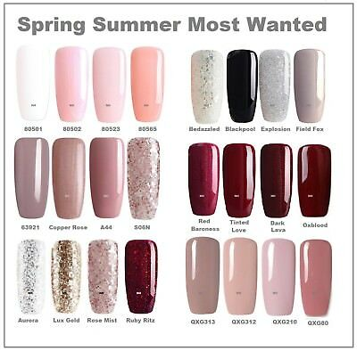 Bluesky Most Wanted Spring Top And Base Coat Uv Led Soak Off Gel Free Postage
