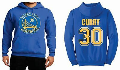Stephen Curry Golden State Warriors MENS/WOMENS  HOODIE nba new SMALL-3XL ROYAL