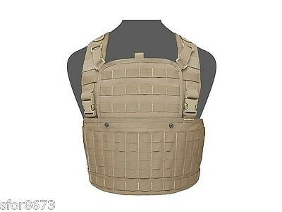 Elite Ops 901 Chest Rig with zip opening Warrior Assault Systems PALS MOLLE
