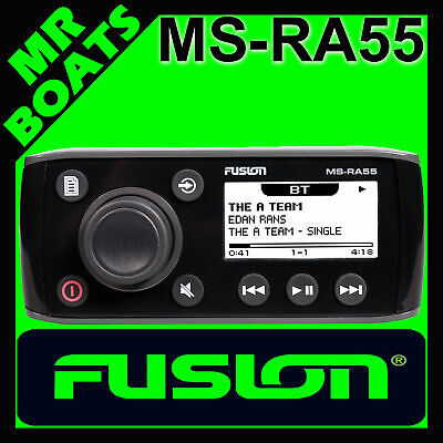 FUSION ✱ RA55 MARINE STEREO + Built in BLUETOOTH ✱ AM/FM RADIO FREE POSTAGE RA55