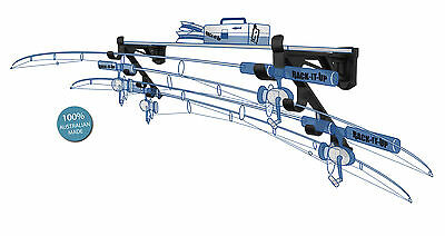 Fishing Rod Rack Wall Rack Boat Rod Storage Stores 4 Rods and Reels NEW