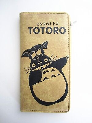 Studio Ghibli My Neighbour Totoro Long Wallet Coins Purse ID Card Holder Anime