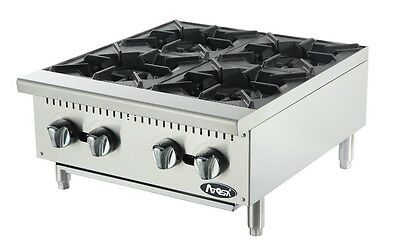 "Atosa ATHP-24-4 brand new commercial restaurant 24"" four burner hot plate"