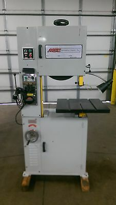 "Vectrax - 450 - Vertical Bandsaw w/ Welder, 18"" variable speed 3 phase 220 volt"