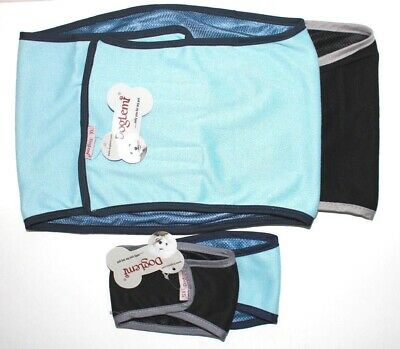 """BELLY BAND Dog Diaper Male For SMALL & LARGE Breeds Reusable Washable 12"""" - 30"""""""