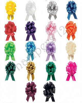 30mm Pull Bows Decorations Wedding Car And Birthday Gift Wrap Floristry