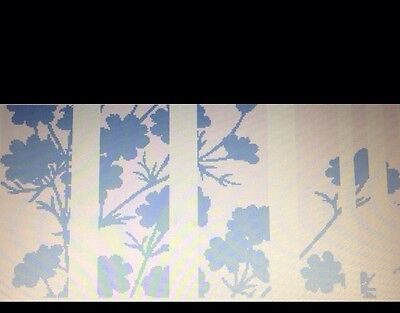 Blue Gardens Counted Cross Stitch Pattern