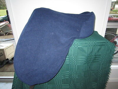 Horse Saddle cover Classic Navy with FREE EMBROIDERY Australian Made Protection