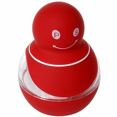 Zuhause - Zippy Soft Touch Duo 2 in 1 Salt and Pepper Mill 8.5cm Red