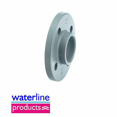 Full Face Flange BS10/Table Solvent Cement Grey uPVC Pipe Fitting Metric