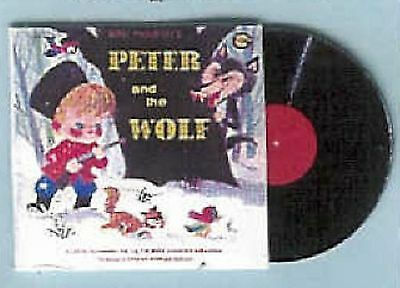 DOLLHOUSE MINIATURES RECORD PETER & THE WOLF PROKOFIEV Non Working Jacquelines