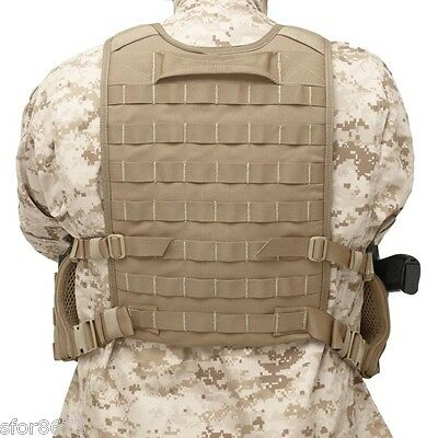 ELITE OPS Chest Rig Rear Panel  Plate Carrier Warrior Assault Systems PALS MOLLE