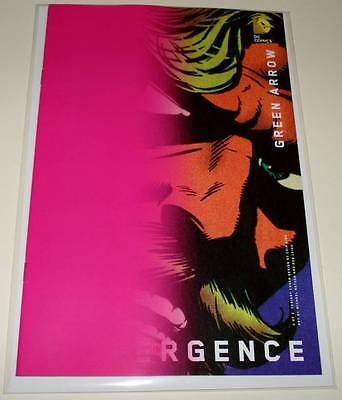 CONVERGENCE : GREEN ARROW # 2  DC Comic July 2015  NM  CHIP KIDD VARIANT COVER
