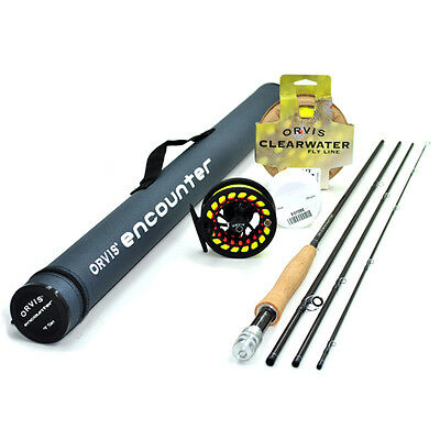 """Orvis Encounter 5-weight 8'6"""" Fly Rod Outfit FREE SHIPPING IN THE US"""