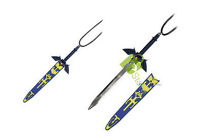 FANTASY Zelda Link's Hylian Master Sword Necklace Neck knife letter opener sword