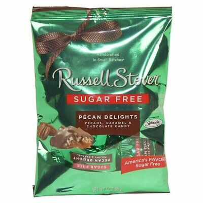 Russell Stover Sugar Free Candy ~ Pecan Delight ~ 3 oz.