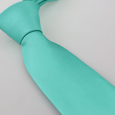 EAGA0157 Dark Turquoise Striped Microfiber Luxury Presents Extra Long Tie Epoint