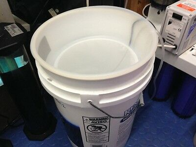 """12"""" 100µ mesh Copepod culture sieve also for Amphipods Mysid Shrimp Rotifers phy"""