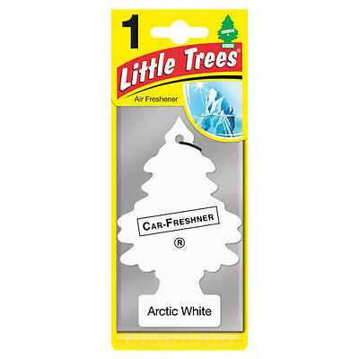 Magic Tree Little Trees Car Home Air Freshener Freshner Scent - ARCTIC WHITE