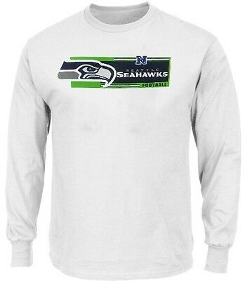 Seattle Seahawks NFL Mens Long Sleeve Critical Victory Shirt Big   Tall  Sizes 7cd98ca0d