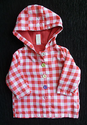 Baby clothes GIRL 3-6m lightweight rainproof coat/jacket 2nd item post-free!