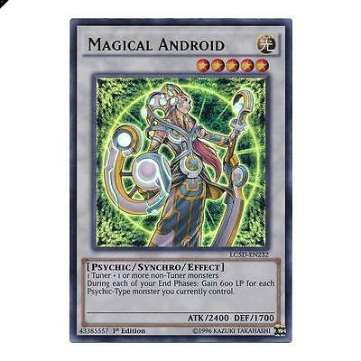 Yu-Gi-Oh! YuGiOh Magical Android - LC5D-EN232 - Ultra Rare 1st Edition Legendary
