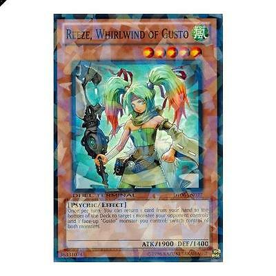 Yu-Gi-Oh! YuGiOh Reeze, Whirlwind of Gusto - DT06-EN027 - Normal Parallel Rare