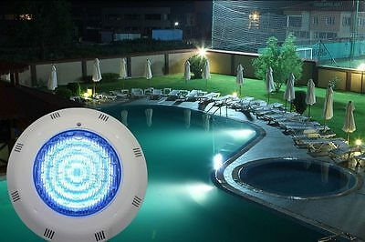 558 LED RGB 5 Colors Underwater Swimming Pool Super Bright Light +Remote Control
