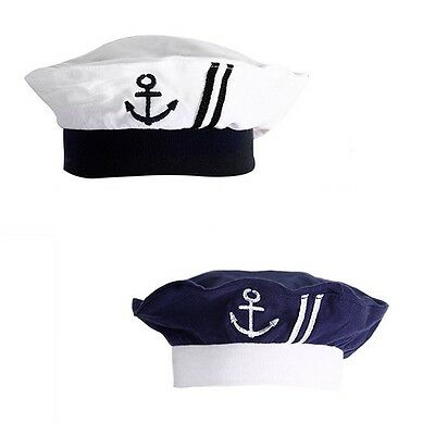 StylesILove Nautical Sailor Embroidered Baby Boy Hat, 3-12 Months