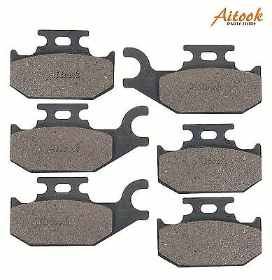 Front and Rear Break Pads CAN AM OUTLANDER 800 4x4 2007-2011