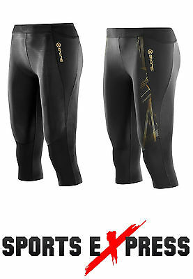 Skins Compression A400 Womens 3/4 Tight + FREE AUS DELIVERY | BUY NOW!